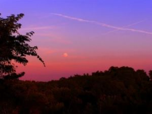 Pink and Purple Sunset Over Southern Kenton