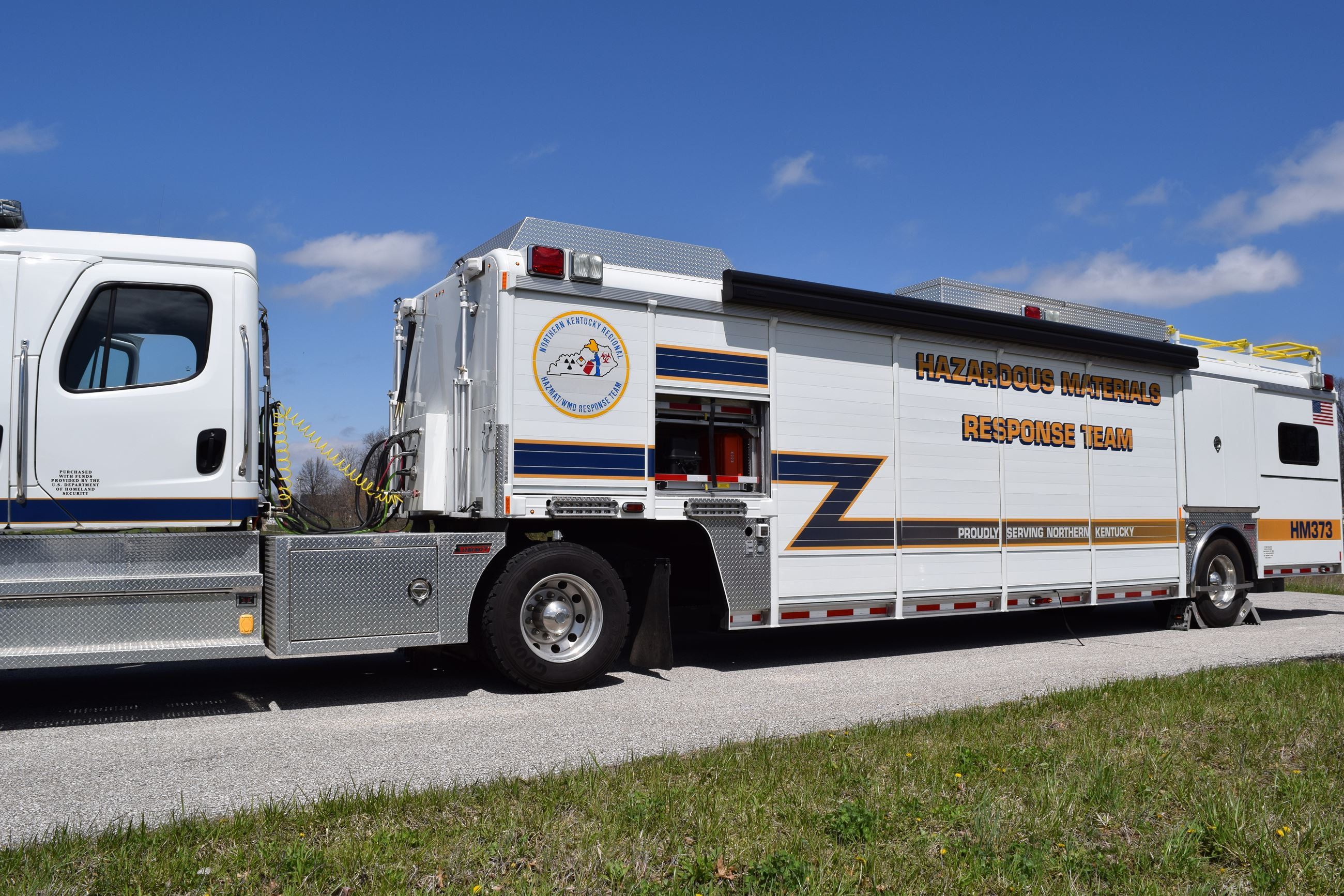 Hazardous Materials Response Team Truck