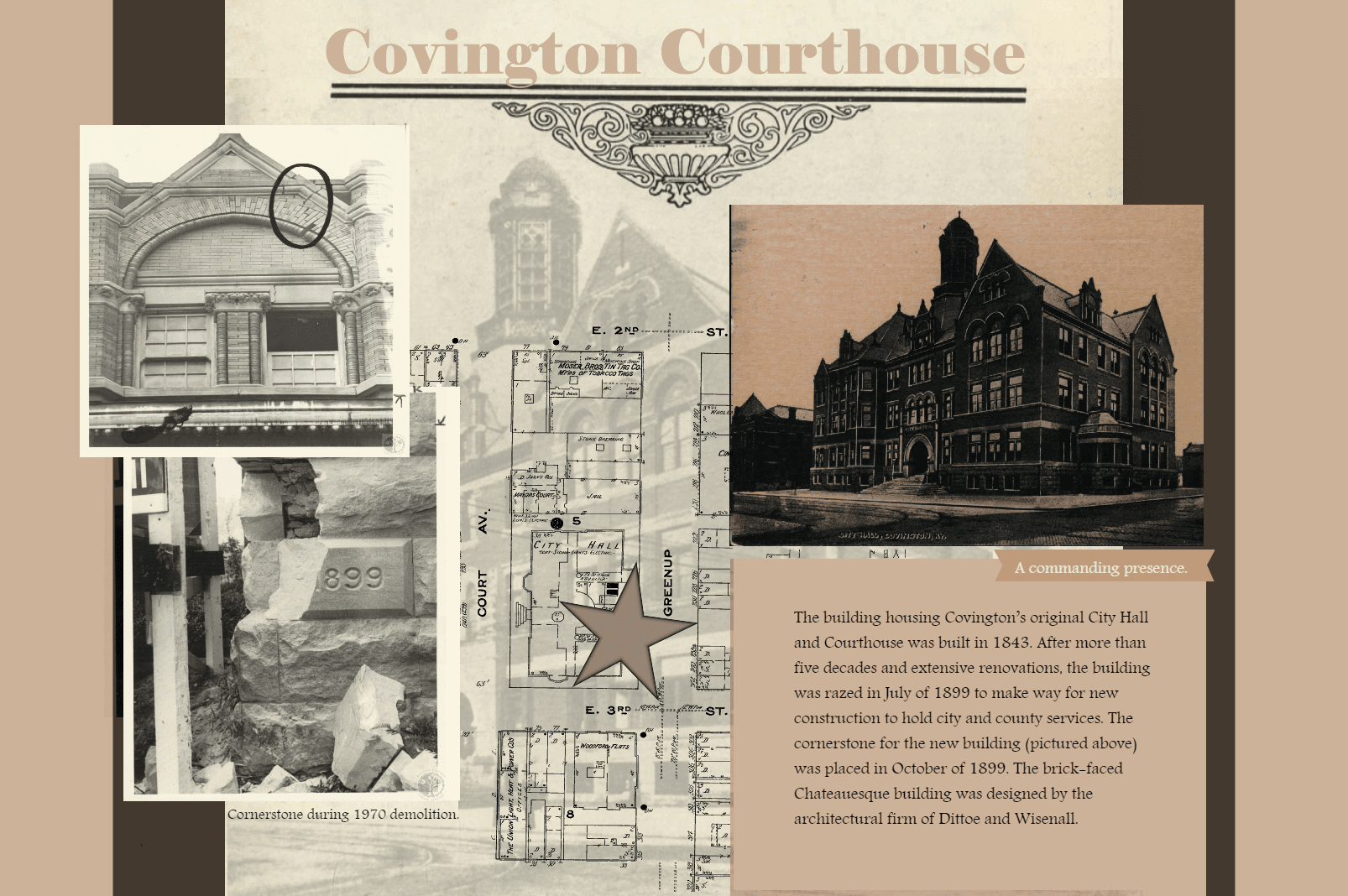 Covington Courthouse Poster 2