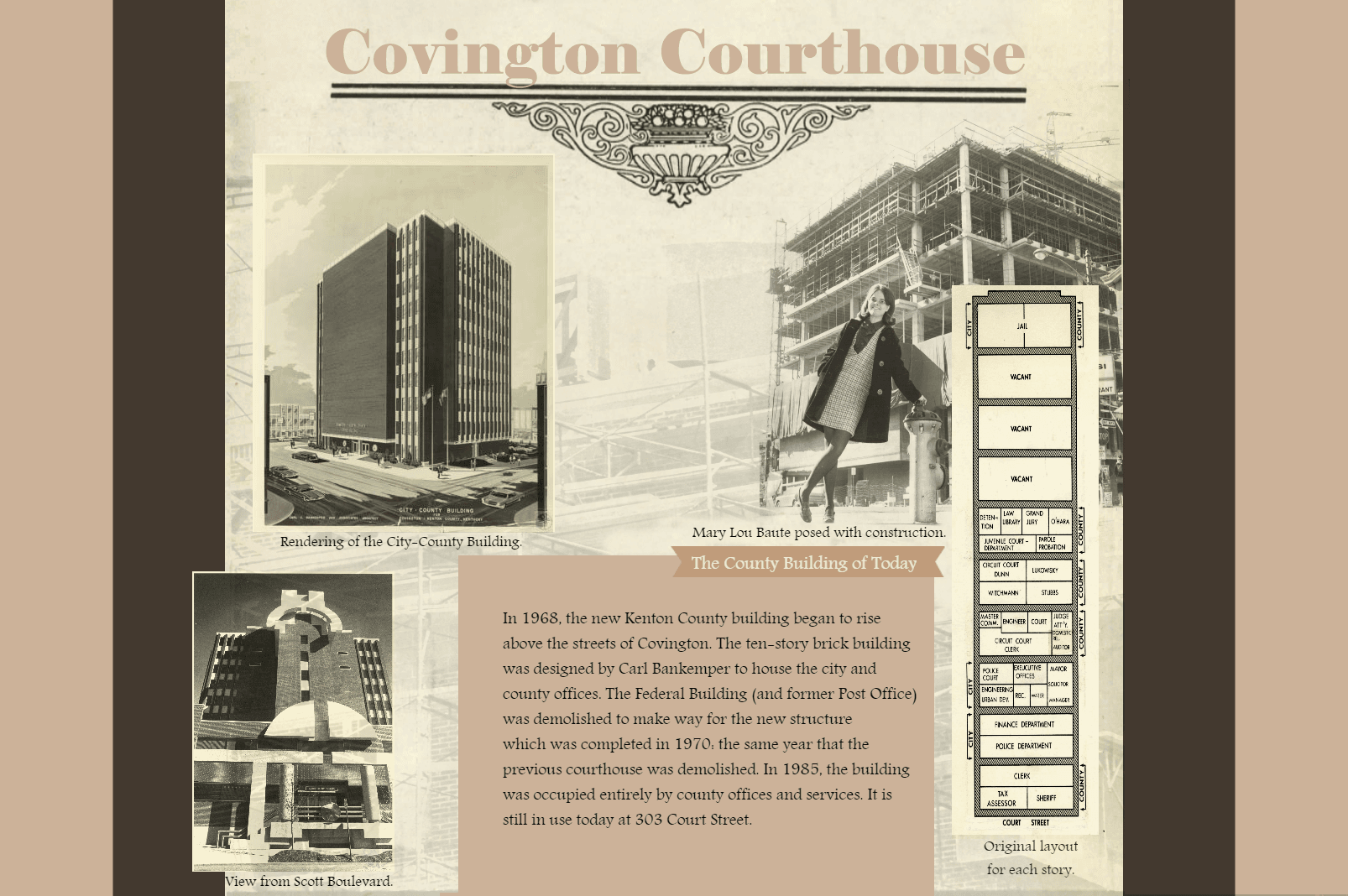 Covington Courthouse Poster 3